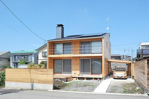 山形県蔵王にて見学可能な「山形エコハウス」 http://www.tuad.ac.jp/ecohouse/